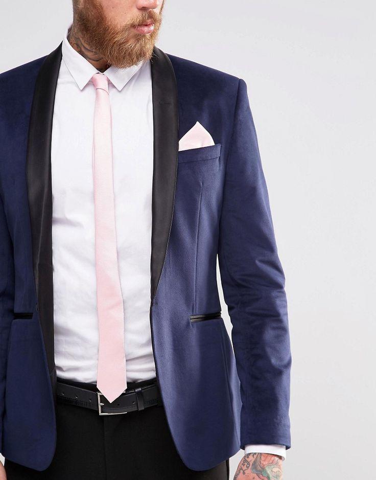 ensemble pochette et cravate rose p le costumes. Black Bedroom Furniture Sets. Home Design Ideas