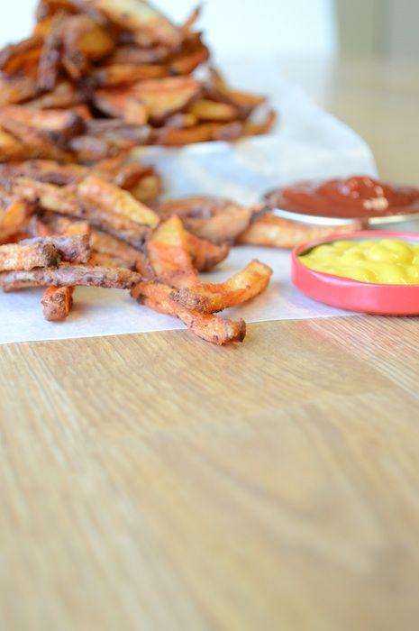Homemade Crispy French Fries