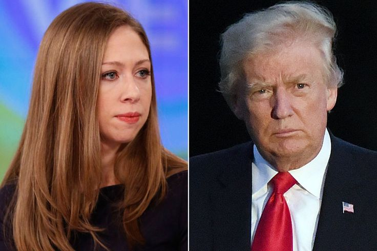"""Chelsea Clinton fired back at President Trump after the commander-in-chief took a jab at her mom while defending his decision to have his daughter fill his seat at a G-20 event over the weekend. """"I…"""
