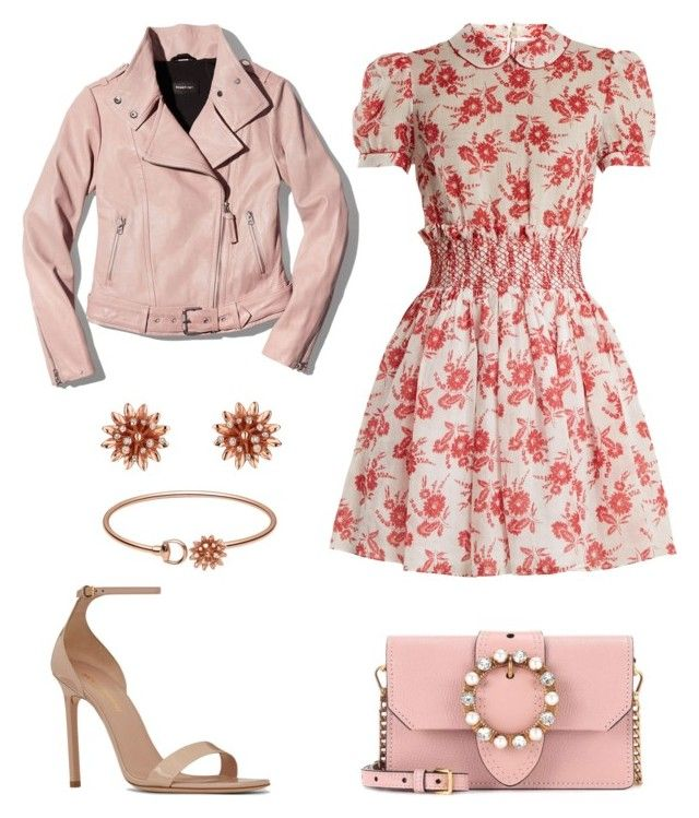 """""""Untitled #315"""" by joanna-tabakou on Polyvore featuring Miu Miu, Mackage, Yves Saint Laurent and Gucci"""