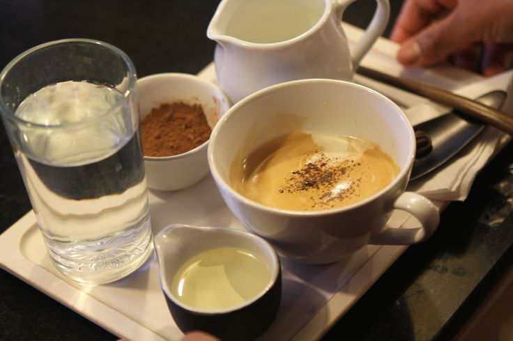 Coffe with Chocolate. BE CHOCOLAT by MICHEL CLEMENT.