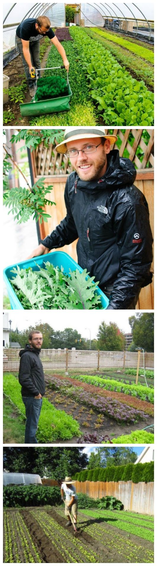 Urban Farming: Growing For Profit – $75,000 on 1/3 acre