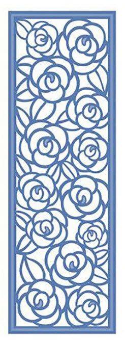 Colección de mini Striplets - jardín de rosas Tamaño: 1 3/4 x 5 1/4. mueren 2 piezas. El arte de las matrices son una elegante colección de diseños de acero de alta calidad diseñados para coordinar con los demás. Creativas expresiones arte muere puede utilizarse en la mayoría principales mueren máquinas de corte incluyendo al jefe de prensa, Grand Calibur por truecan, Cuttlebug de Provocraft, Big Shot de Sizzix y eBosser por Craftwell.