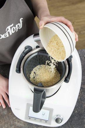 Reis im Garkorb kochen – Foto: Kathrin Knoll