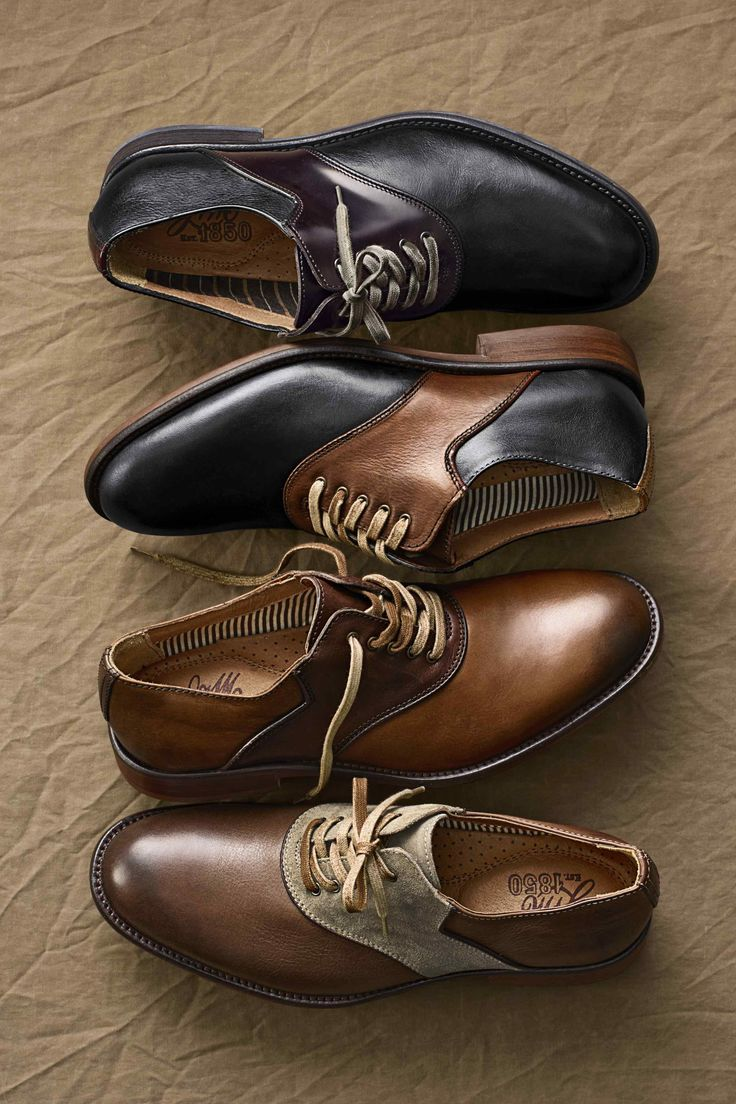 Johnston & Murray - Decatur Saddle shoes #nattyguy #mensfashion #shoes