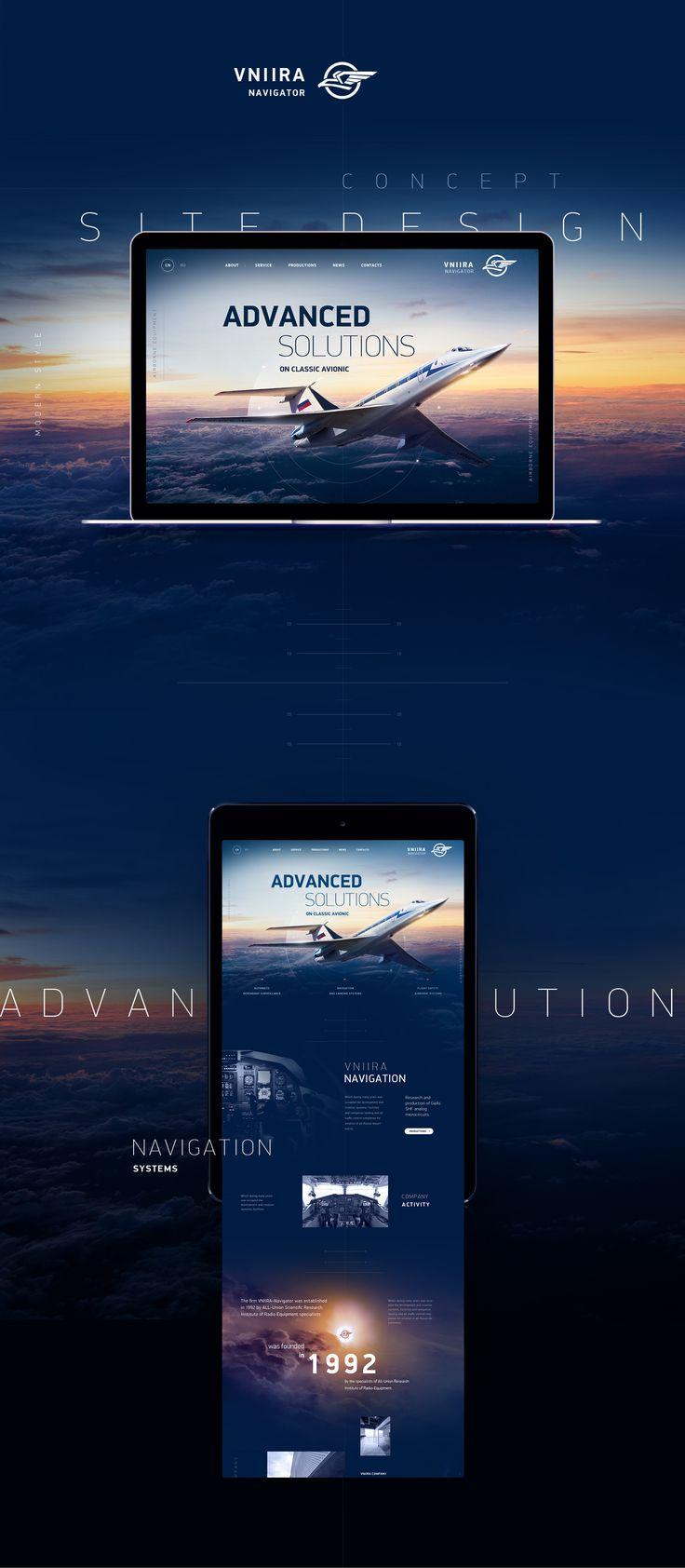 Plane Navigation on Behance