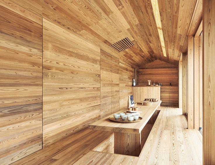 Yoshino Cedar House Dining Table | Est Living
