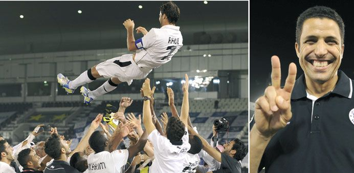 Al Sadd claim Qatar Stars League crown in style