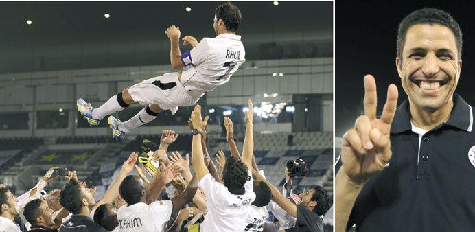 Al Sadd claim Qatar Stars League crown in style