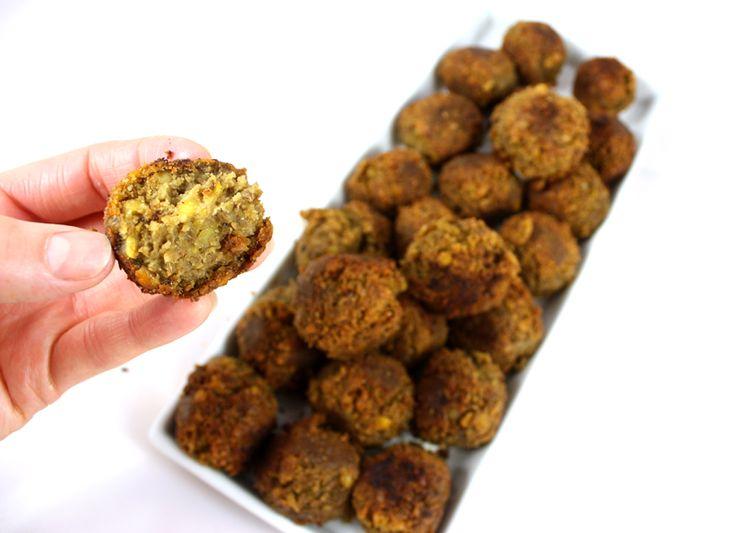 Oppskrift Grønne Linselus Linseboller Veganske Kjøttboller Vegetar Tapasboller Vegetar Tapas Linser