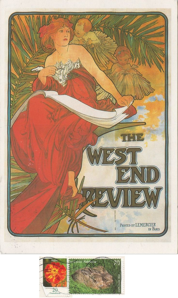 DE-6551572 - Arrived: 2017.09.27   ---   Alfons Mucha - The west end review (1898)