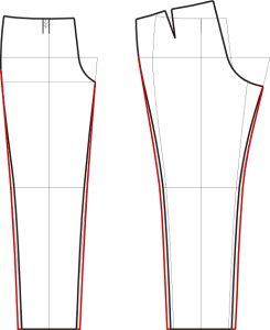 Моделируем свободные брюки