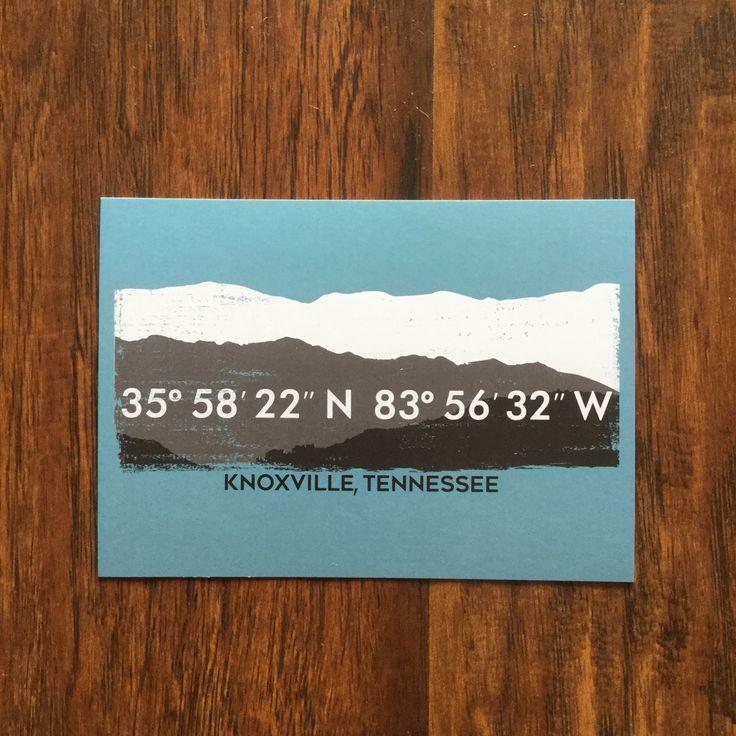 Coordinates Postcard