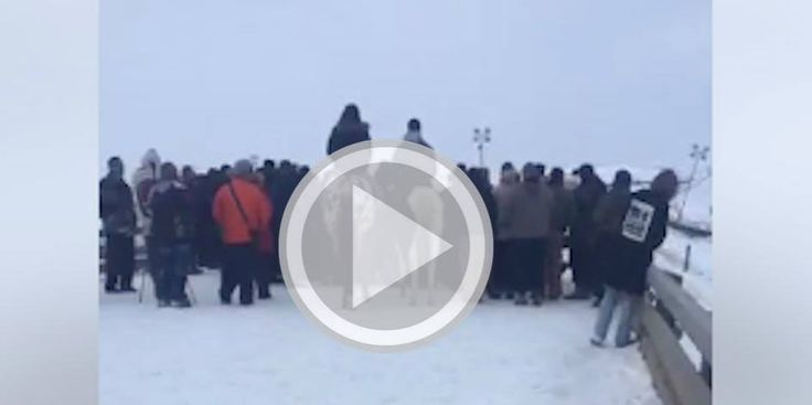 HAPPENING NOW: Vets Shut Down Bridge At Standing Rock To Protect Protesters (VIDEOS) (Occupy Democrats, 12.2.16)