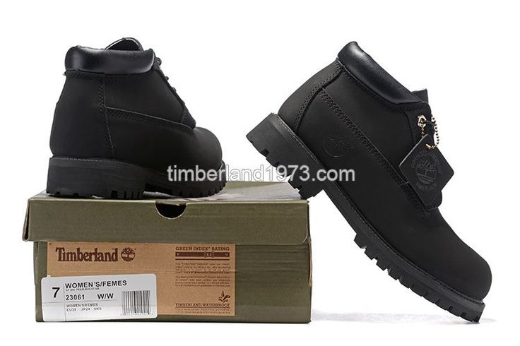 2017 Fashion Timberland Chukka Boots Women In All Black $ 75.00