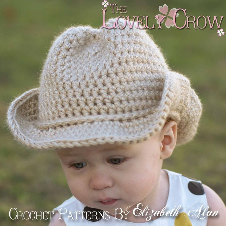 Free Baby Crochet Patterns | Baby Cowboy Crochet Pattern Cowboy Hat for BOOT SCOOT'N Cowboy Hat ...