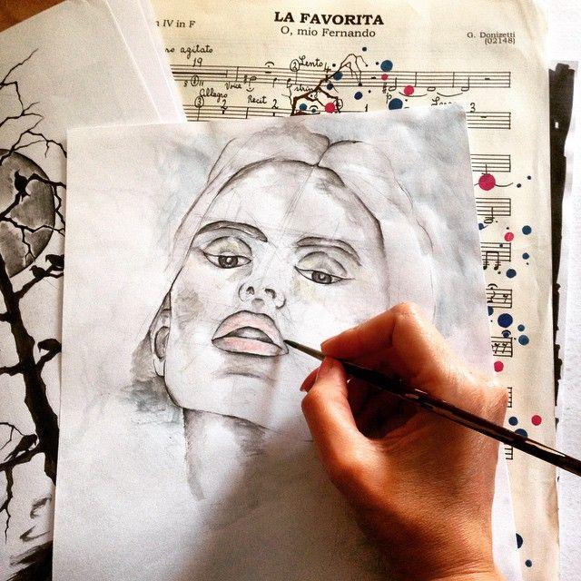 #art #illustration #drawing #draw #coffeenglasses... - LEYLA ÖZLÜOĞLU