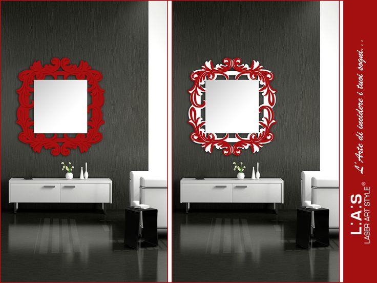 #ChoiceLAS Dubbi nello scegliere una specchiera #laserartstyle: unicolor o bicolor? http://www.laserartstyle.it/home/gallery/specchiere/