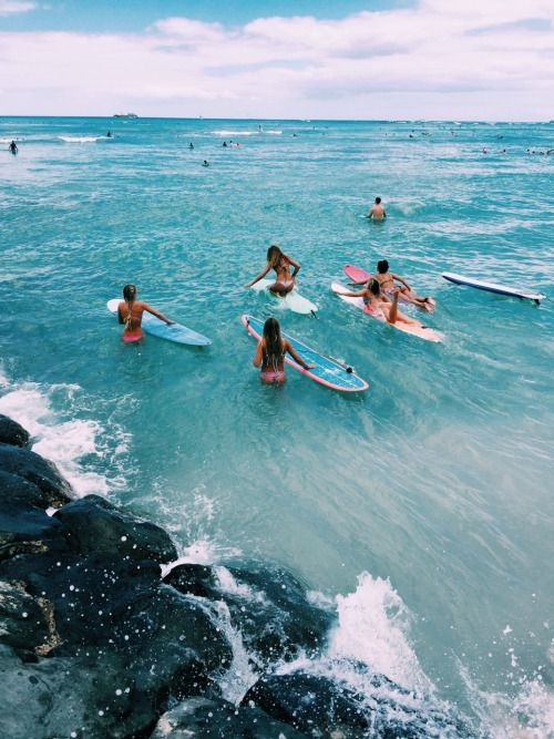 Surf | Girls | Beach