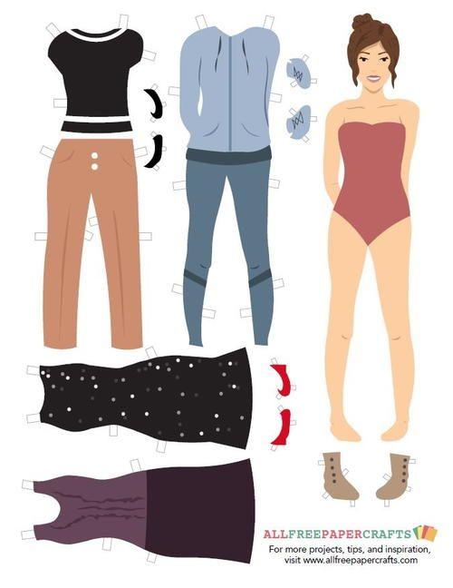 Allfreepapercrafts Com: 25+ Best Ideas About Paper Doll Template On Pinterest