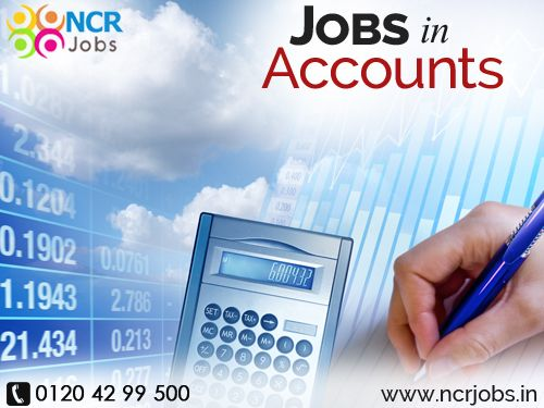Jobs in Accounts is to prepares asset, liability, and capital account entries by compiling and analyzing account information. Documents financial transactions by entering account information.Substantiates financial transactions by auditing documents. See@ https://ncrjobs.in/accounts-jobs.php