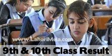 BISE Lahore Board Matriculation Supplementary Result