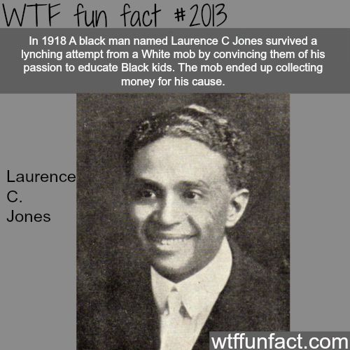 He succeeded against all odds battling racism, tornadoes, financial woes, and an attempted lynching. In 1918 persuading the mob with his vision for the school, instead of lynching him, the crowd ended up passing the hat and collecting money for his school.