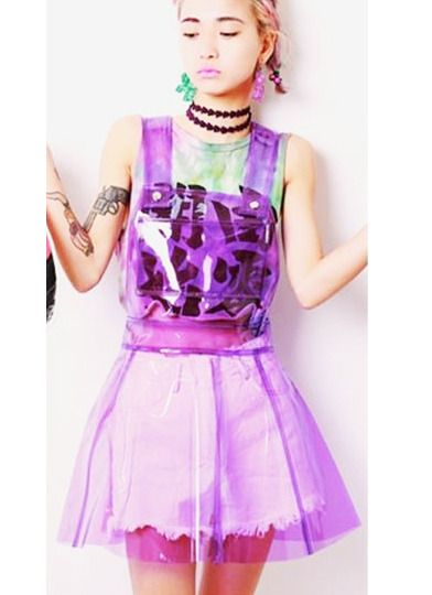 This one good for party to wear ^.^ No elastic for this skirt. Size: S, M, L