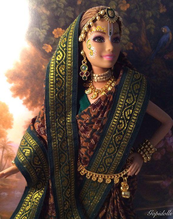 Gopi Doll - OOAK Doll - Altered barbie doll - Jayashri