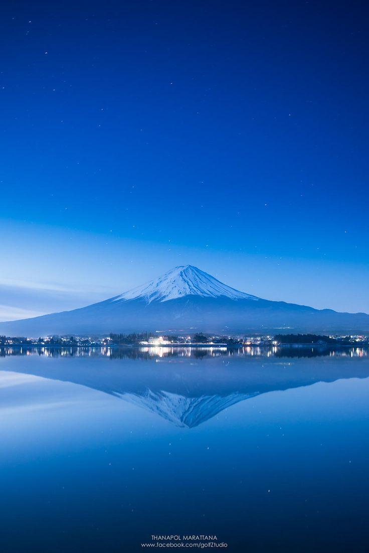 Fuji san by Thanapol Marattana on 500px