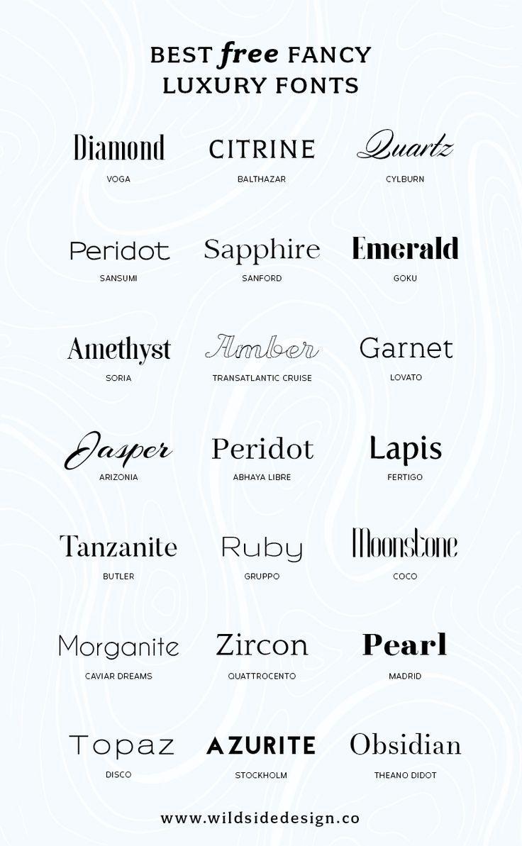 Was ist, wenn Sie Ihrer Marke ein hochwertiges Aussehen verleihen möchten? Hier sind einige kostenlose Luxusfon