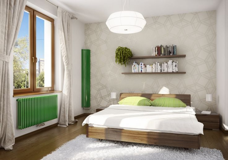 Ruby Round: Designer corner radiator. Practical radiator suitable into modern and classic interiors. Spatial solutions for your home. Central heating radiator with middle connection. Delivery: 4 weeks. Aqua III.: The elegant column radiator is made of steel segments. A wide variety of paint finishes. Delivery: 6 weeks.