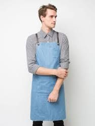 Image result for cotton waistcoat with t-shirt casual uniforms for waiting staff