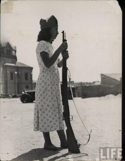 Anarchist Militia Women, Spanish Civil War ca. 1936-1939