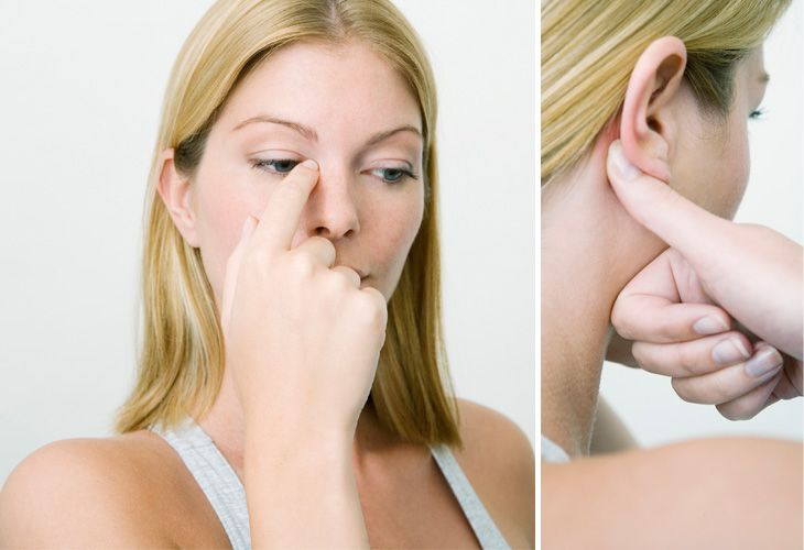 4 Pressure Points to Get Rid of a Blocked Nose