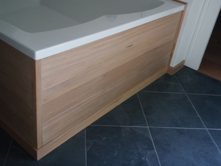 Les 25 meilleures id es concernant coffrage sur pinterest styles de salles - Coffrage baignoire bois ...