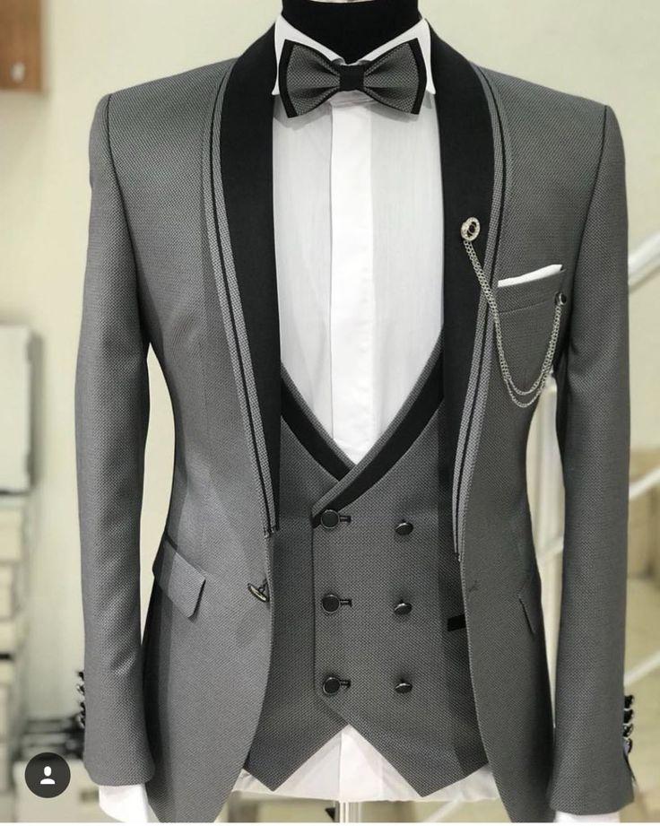 Gray suit