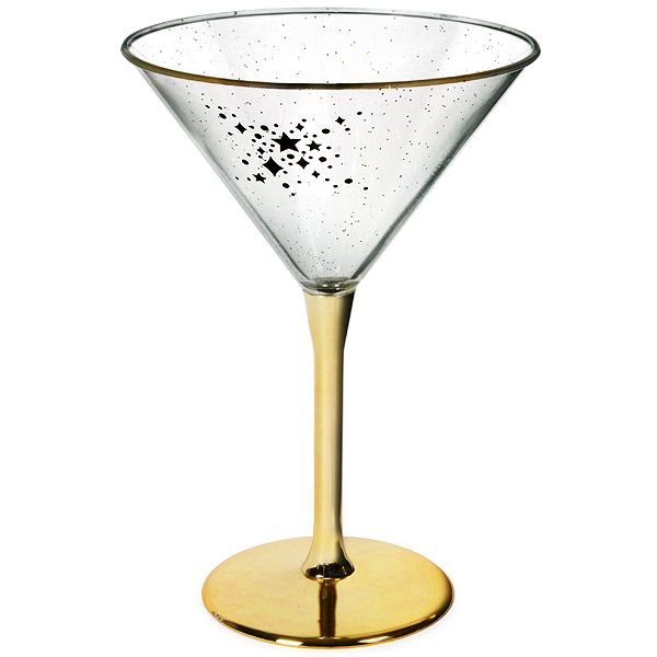 Plastic Martini Glass – 4 per. 230 ml. It's perfect for your party at home when you don't want to have to wash your glassware. Order at +353 (1) 687 5066