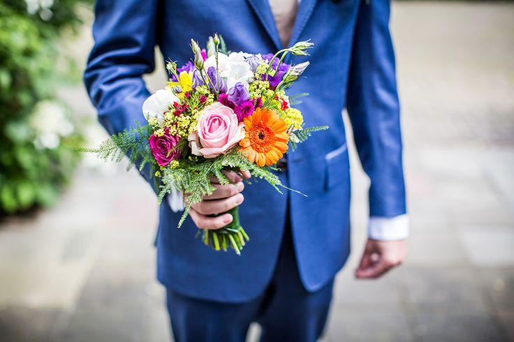 Bruidsboeket bruiloft Den Bosch #zomers #bruidsfotografie #bruidsfotograaf Dario Endara
