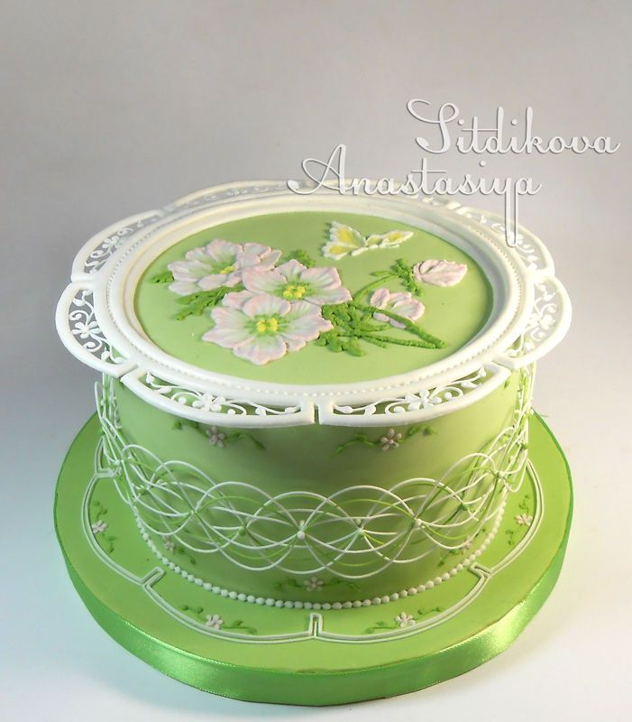 Royal Icing | Pasteles Glase Real/Royal Icing Cakes | Pinterest