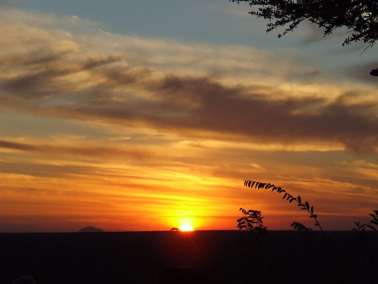 A beautiful sunset in Namibia!  www.africanimpact.com