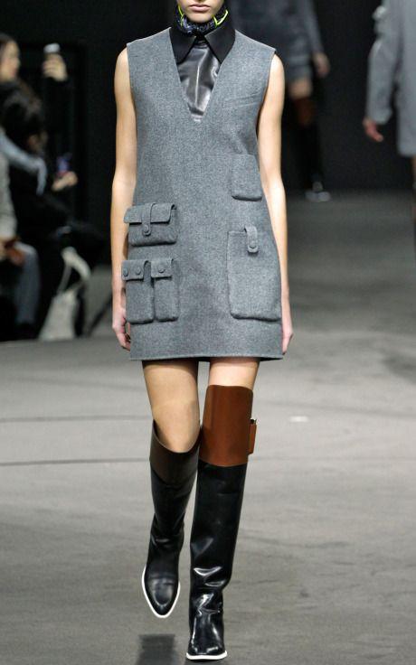 Sleeveless Tunic Dress With Multi Cargo Pockets by Alexander Wang for Preorder on Moda Operandi. I'll take it!!