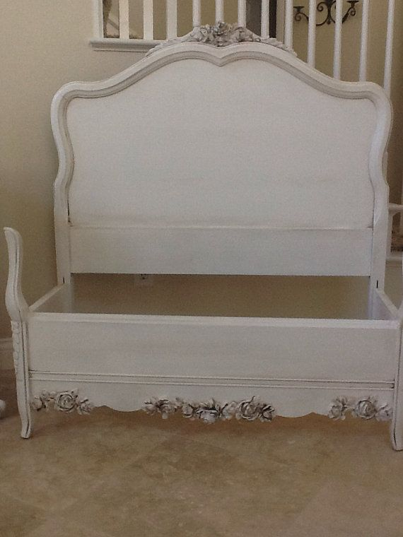 gorgeous elegant french provincial twin bed