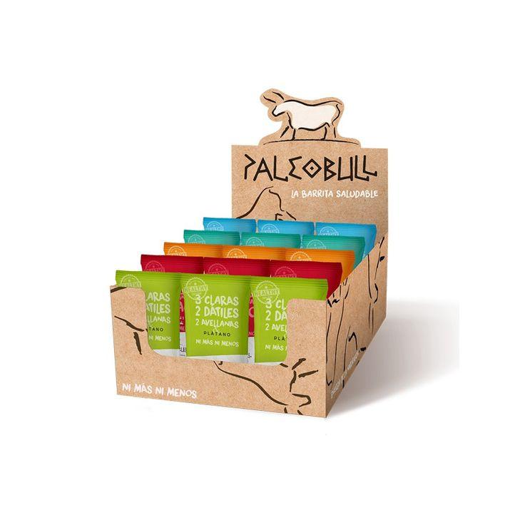 #PALEOBULL - Pack Ahorro 5 sabores - #Barritas Proteicas #Paleo (15x50g)  Caja de 15 barritas energéticas paleo de 5 sabores diferentes (3 de cada sabor): Plátano, #Reishi, Naranja, Colágeno y Coco. Solo con ingredientes naturales. Ni más ni menos. Ideales para la dieta paleo.  #dietapaleo #snackgods
