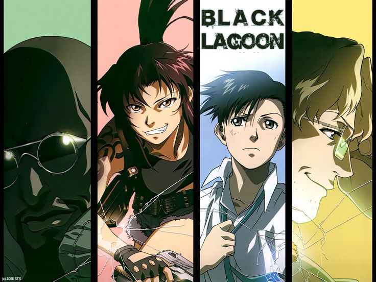 Black Lagoon #anime #blacklagoon
