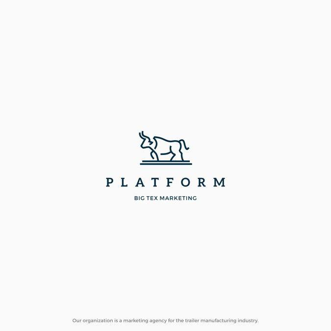 Create a minimalist agency logo design by gaga vastard