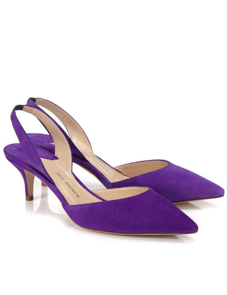 Iris Leather Rhea Slingback Heels
