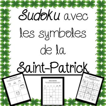 Sudoku Saint-Patrick (4 activités)