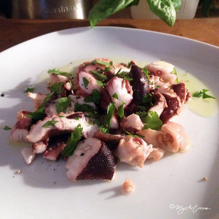 Rezept für Pulpo-Salat mit Limone auf www.myartroom.de