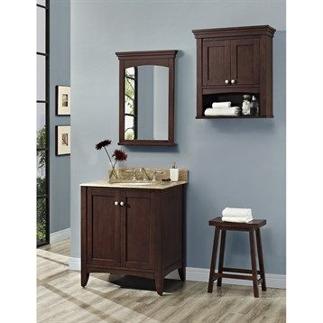 Gallery Website Fairmont Designs Shaker Americana Vanity Habana Cherry